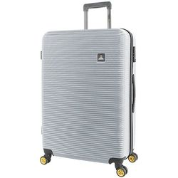 National Geographic Abroad duża walizka na kółkach / 76 cm / srebrna - srebrny