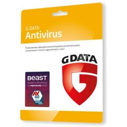 G Data AntiVirus 1 PC - Nowa 3 lata