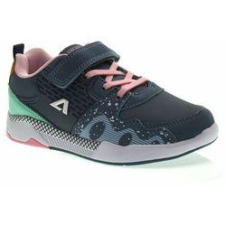 Buty sportowe dla dziewczynki American Club BS06/21 Grey