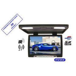 "NVOX RF1590U BL Monitor podwieszany podsufitowy LCD 15"" cali LED USB SD IR FM 12V 24V"
