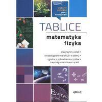 Książki dla młodzieży, MATEMATYKA I FIZYKA TABLICE - Opracowanie zbiorowe (opr. miękka)