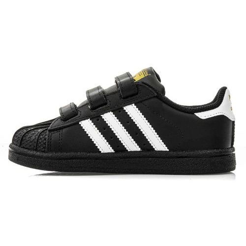 Buty sportowe dla dzieci, adidas Originals SUPERSTAR CF Obuwie do nauki chodzenia core black/footwear white
