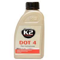 Płyny hamulcowe, K2 DOT4 Syntetyczny Płyn hamulcowy 500ml
