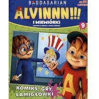 Książki dla dzieci, Alvinnn!!! i wiewiórki cz.9 (opr. broszurowa)