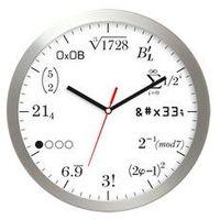 Zegary, Zegar aluminiowy matematyka #10