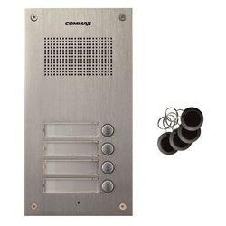 Stacja bramowa czteroabonentowa z czytnikiem RFID Commax DR-4UM/RFID