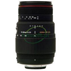OBIEKTYW SIGMA 70-300mm f/4-5,6 APO DG MACRO do CANON