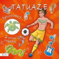 Książki dla dzieci, Tatuaże. Sportowcy (opr. miękka)