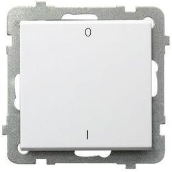 Łącznik dwubiegunowy Biały - ŁP-11R/m/00 Sonata