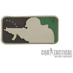 Naszywka Maxpedition Major League Shooter Patch 3 x 1,6 Arid