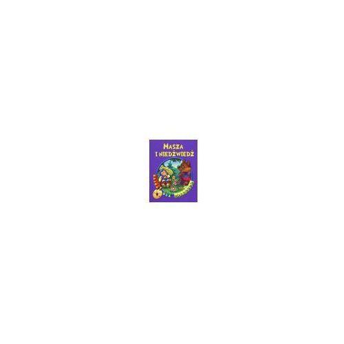 Książki dla dzieci, Bajka dla maluszka - masza i niedźwiedź (opr. broszurowa)