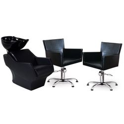 Zestaw Mebli Fryzjerskich Myjnia Techno + 2 Fotele Isadora