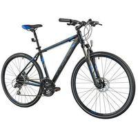 Pozostałe rowery, Rower INDIANA X-Cross 3.0 M19 Czarno-niebieski | 5 LAT GWARANCJI NA RAMĘ DARMOWY TRANSPORT