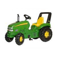 Traktory dla dzieci, Rolly Toys Traktor X-Trac John Deer Zielony