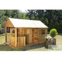 Domki i namioty dla dzieci, Drewniany domek dziecięcy Simone