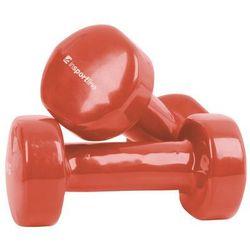 Hantle fitness winylowe inSPORTline 2 x 1.5 kg