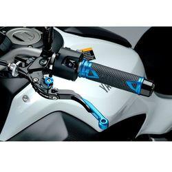 Manetki PUIG Hi-Tech Radikal do kierownic 22 mm (niebieskie)