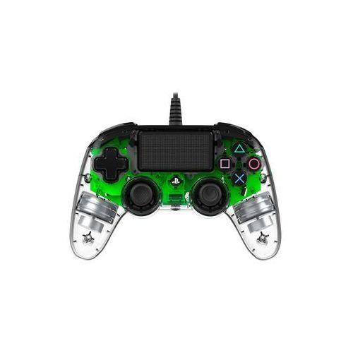 Gamepady, Kontroler NACON Compact Controller Świecący Zielony