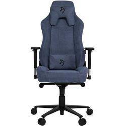 Arozzi fotel na kółkach Vernazza Soft Fabric, niebieski (VERNAZZA-SFB-BL)