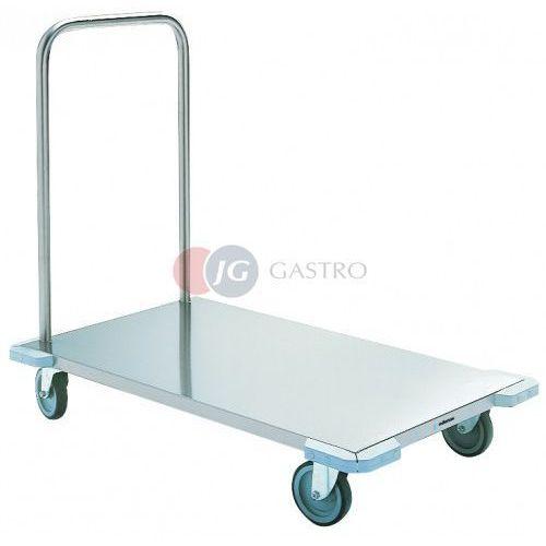 Wózki widłowe i paletowe, Wózek platformowy 663x1070x910 wzmocniony CR-1060