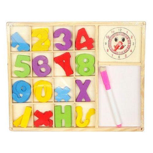 Zabawki z drewna, Zabawka SWEDE Zestaw cyferek drewnianych