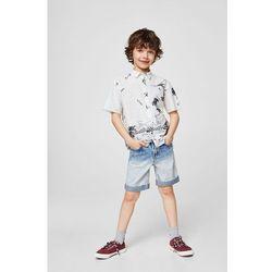Mango Kids - Koszula dziecięca Cali 110-164 cm