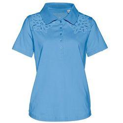 Shirt polo bonprix niebieski