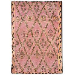 HK Living Ręcznie tkany wełniany dywan berberyjski kolor terra/pomarańczowy (250x350) TTK3043