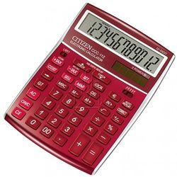 kalkulator Citizen CCC-112RD burgundowy - gwarancja bezpiecznych zakupów - autoryzowany dystrybutor Citizen