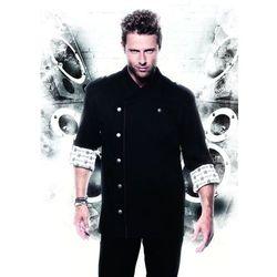 Bluza kucharska, rozmiar 44, czarna | KARLOWSKY, Rock Chef