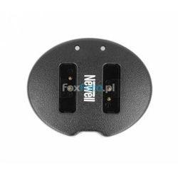 Ładowarka dwukanałowa Newell SDC-USB do akumulatorów NB-13L