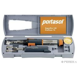 Lutownica gazowa PORTASOL SUPER-PRO 125 - Zestaw