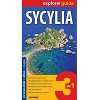 Przewodniki turystyczne, Sycylia 3w1 Przewodnik+atlas+mapa (opr. broszurowa)