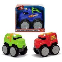 Jeżdżące dla dzieci, Auto tough wheelers z dźwiękiem, 3 rodzaje