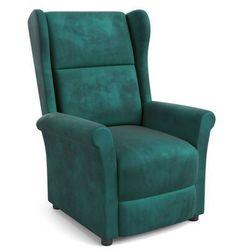 Fotel Agustin 2 Rozkładany Zielony OUTLET -30% kolor zielony