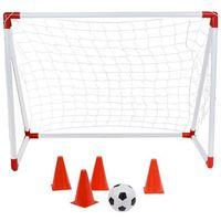 Piłka nożna, Bramka do piłki nożnej NILS BR116A z akcesoriami treningowymi + DARMOWY TRANSPORT!