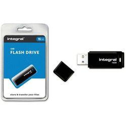 Pendrive Integral Czarny 16GB (INFD16GBBLK) Darmowy odbiór w 20 miastach!
