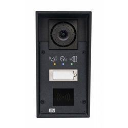 2N Helios IP Force Domofon jednoprzyciskowy, kamera, piktogramy, możliwość RFID