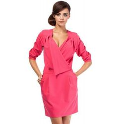 MOE194 sukienka różowa