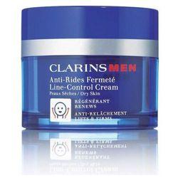 Clarins Men Line Control Cream krem do twarzy na dzień 50 ml tester dla mężczyzn