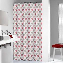 Zasłona prysznicowa tekstylna Amor Darmowa wysyłka i zwroty