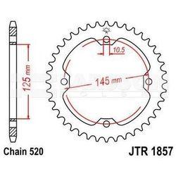 Zębatka tylna stalowa JT 1857-38, 38Z, rozmiar 520 2300078 Yamaha YFM 700
