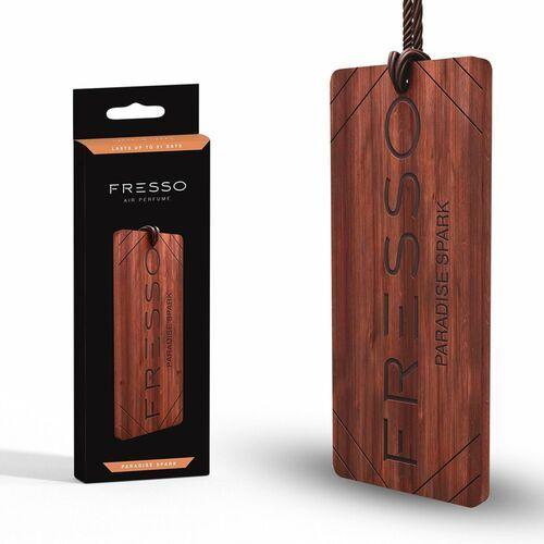 Pozostałe zapachy samochodowe, Fresso Paradise Spark drewniana zawieszka zapachowa