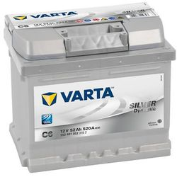 Akumulator VARTA SILVER DYNAMIC C6 52AH P+ 520A 12V