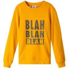 Bluza dziewczęca bonprix żółty