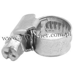 Obejma opaska zaciskowa ślimakowa skręcana 6-10mm 100szt