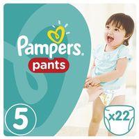 Pieluchy jednorazowe, Pampers, Active Baby Pants. Pieluchomajtki, rozmiar 5 Junior, 22 sztuki - Pampers - BEZPŁATNY ODBIÓR: WROCŁAW!