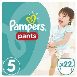Pampers, Active Baby Pants. Pieluchomajtki, rozmiar 5 Junior, 22 sztuki - Pampers
