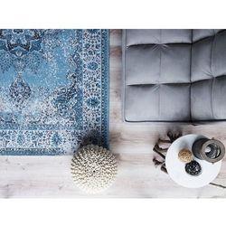 Dywan niebieski 140 x 200 cm krótkowłosy ALMUS