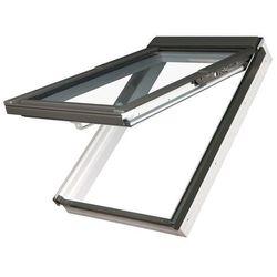 Okno dachowe uchylno-obrotowe PPP-V U3 Fakro preSelect - 78x140, złoty dąb